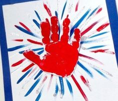 4th July Crafts, Fourth Of July Crafts For Kids, Patriotic Crafts, Summer Crafts For Toddlers, Summer Camp Crafts, Camping Crafts, Daycare Crafts, Classroom Crafts, Baby Crafts