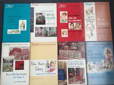 Vtg 1960's Lot of 8 Amy Vanderbilt Success Program For Women Self Help PB Books