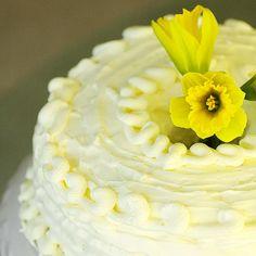 Savoring Time in the Kitchen: Lemon Cream Cake