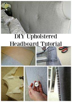 DIY tufted headboard tutorial