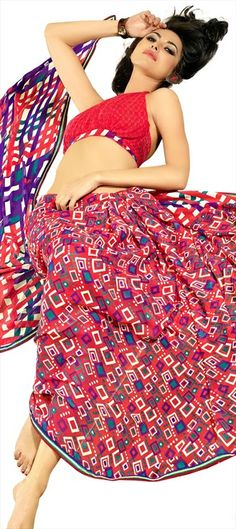 103608  The quirky prints are fun and if in saree, they add a chic style to the personality.      #QuirkyPrint