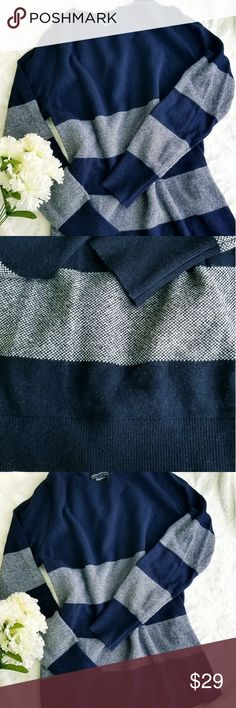 Banana Republic Filpucci Sweater, Size M Beautiful Banana Republic With Fine Italian Yard By Filpucci Crew Neck Sweater. %45 Merino Extra Fine Wool, %25 Viscose, %20 Nylon, %10 Cashmere. Soft &Warm. Color is Navy Blue, Size M, Excellent Condition. Make an offer 🛍🌹 Banana Republic Sweaters Crew & Scoop Necks