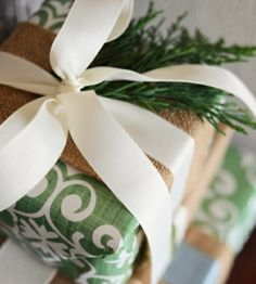 Classic Chic Home: 20 Gorgeous Christmas Gift Wrap Ideas