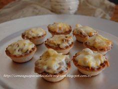 Estas mini tartaletas de champiñones y nata son muy sencillitos y suaves y os aconsejo que probéis pues con estos pocos ingredien...