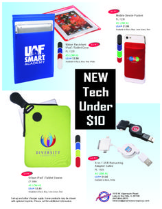 #Promo items #promotionalproducts technology promo items or guest gifts