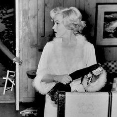 "Marilyn Monroe in ""Niagara"" (1953)."