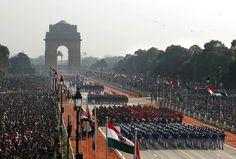 Republic Day in New Delhi, Rajpath avenue, 26 January 2012. India, (AP / Saurabh Das)