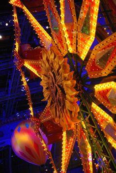 Las Vegas Las Vegas ferris wheel in Bellagio hotel