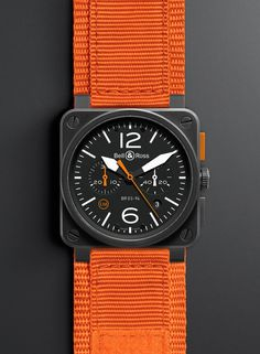 Bell & Ross BR 03-94 Carbon Orange – 500 pieces only Image #235511