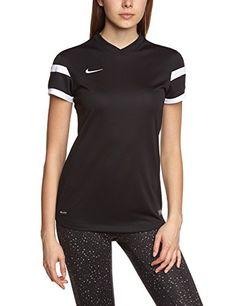 Nike Trophy II - Camiseta deportiva para mujer negra  camiseta   realidadaumentada  ideas   040b246d29a5d