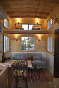 Solvang Tiny House (282 Sq Ft) - TINY HOUSE TOWN