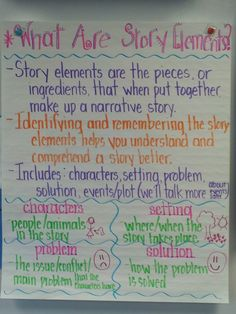 Confessions of a Primary Teacher: 1st Grade Story Elements