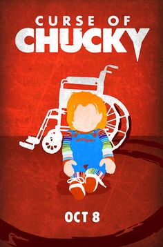 Curse of Chucky Poster by MyHappyMonday