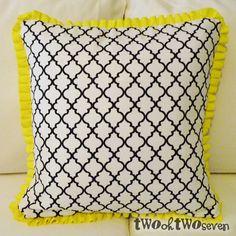 2027: Pillows 4 Ways: Ruffled Trim