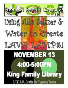 SCPLS King Family Library Crafty Critters S.T.E.A.M. Club