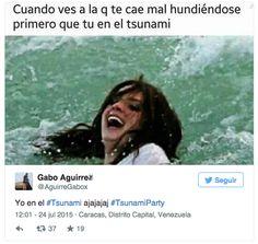 Captura de pantalla 2015-07-27 a la(s) 10.23.27 Tsunami, Caracas, Hilarious Pictures, Falling Down, Venezuela, Display, Pictures, Tsunami Waves