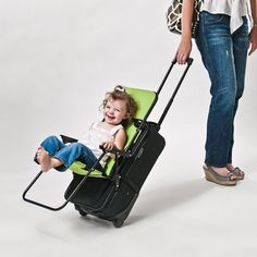 Ride-On Carry-On Luggage Chair - $50