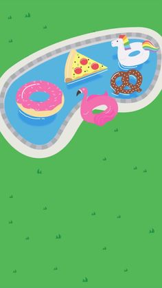 Take advantage of the warmer weather this summer and have a pool party! This free animated invitation from Evite shows a few fun pool floaties including pizza, a flamingo, donut, pretzel and unicorn. Pool Party Themes, Pool Party Decorations, Luau Party, Ideas Party, Barbie Birthday, 21st Birthday, Flamingo Party, Pool Party Invitations, Birthday Invitations