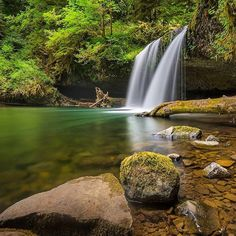 Upper Butte Creek Falls trail is located outside of Scotts Mills, Oregon. The relatively easy in and out trail brings you to Upper Butte Creek Falls, and the perfect summer swimming spot.  We want to share your outdoor adventures too! Use the hashtag #usoutdoor to get your photos featured on our feed. #regram #upperbuttecreekfalls #hiking