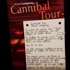 Cannibal tour de Anouk Langaney. Editions Albiana. Coup de cœur du Corbac librairie humeurs noires à Lille. #polar #livre #book #lespetitsmotsdeslibraires