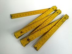 20% OFF Vintage Soviet Era Wooden Ruler by EasternEuropeVintage