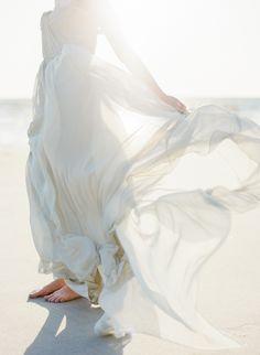 Elegant Coastal Elopement Inspiration  via Magnolia Rouge