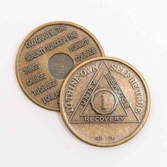 12 Step Token narcotics anonymous coin NA Newcomer Coin Gold Plated Medallion Recovery Chip Glow In The Dark