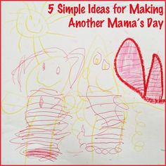 5 Simple Ideas for Making Another Mama's Day - Pinned by @PediaStaff – Please Visit  ht.ly/63sNt for all our pediatric therapy pins
