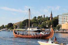 Viking ship in Tønsberg, Norway