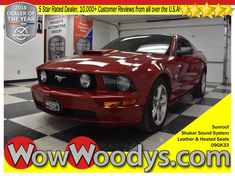 Wow! This 2009 Ford Mustang GT Premium is equipped with a 4.6L V8 engine. Top options include Glass Roof, Leather and Heated Seats, Shaker Sound System with a Subwoofer, Keyless Entry, and so much more! KBB.com Brand Image Awards. Delivers 23 Highway MPG and 15 City MPG!