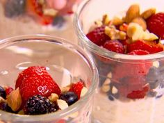 Get this all-star, easy-to-follow Muesli Parfaits recipe from Healthy Appetite with Ellie Krieger