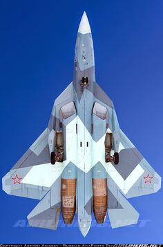 Russia - Air Force Sukhoi T-50 Moscow - Zhukovsky (Ramenskoye) (UUBW) Russia,…