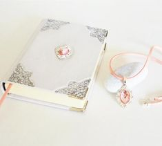 Your place to buy and sell all things handmade Leather Notebook, Leather Journal, Leather Photo Albums, Cute Notebooks, Journals, Pink Pendants, Cute School Supplies, Leather Art, Christmas Gifts For Women