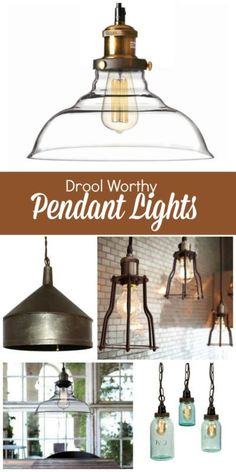 Pendant lights are like the jewelry of a kitchen. They add great light, shine, and loads of character! Pendant lights make great focal points and conversation pieces when you have guests over. Nowadays many builders use generic, boring lights, but don't worry! If you are in the market for new lighting and love the look of pendants, follow along as eBay shares some great options that can add a bit of rustic elegance to your home.