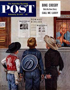 Sociedad Filatélica de Madrid: Stevan Dohanos y el Correo en las portadas de The Saturday Evening Post