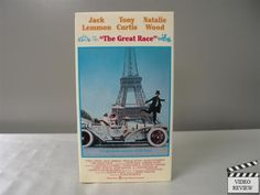 The Great Race VHS Jack Lemmon, Tony Curtis, Natalie Wood