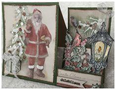 Scrappiness: Brettekort med julemotiv