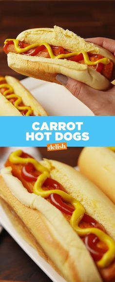 Carrot Hot DogsDelish