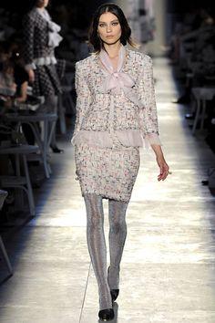 Kati Nescher au défilé Chanel haute couture
