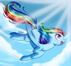 Rainbow Dash by WhitePhox.deviantart.com on @deviantART