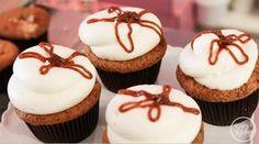 Caramel Apple Cupcake Recipe by Georgetown Cupcake on @kaseyskitchen