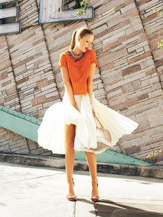 pleated circle skirt pattern