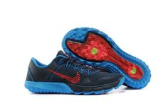 Nike Mens Shoes Zoom Terra Kiger Gray Blue Red