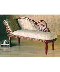 Can't have a Victorian style house without a chaise lounge.