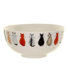 Another great find on #zulily! Cats in Waiting Bowl #zulilyfinds