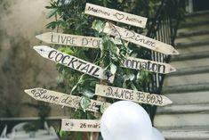 panneau mariage champêtre direction rustic wedding wood ideas diy