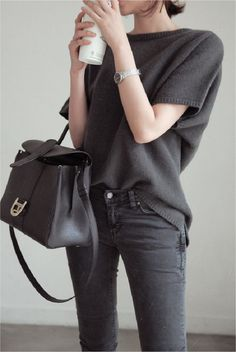 gray monochrome fashion