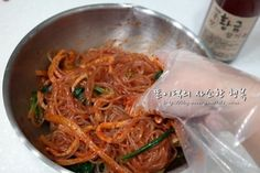 Korean Dishes, Korean Food, How To Cook Liver, Asian Recipes, Ethnic Recipes, Light Recipes, No Cook Meals, Japchae, Food And Drink