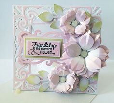 Crafters Companion card using new Die'sire Create a card die