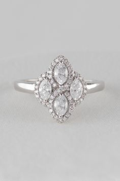925 Sterling Silver Cubic Zirconia Ring Cubic Zirconia Rings, Sterling Silver Rings, Heart Ring, Engagement Rings, Jewelry, Enagement Rings, Sterling Silver Band Rings, Bijoux, Heart Rings